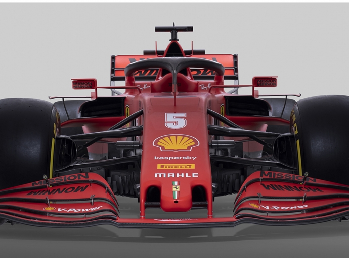 Ferrari launches its 2020 contender