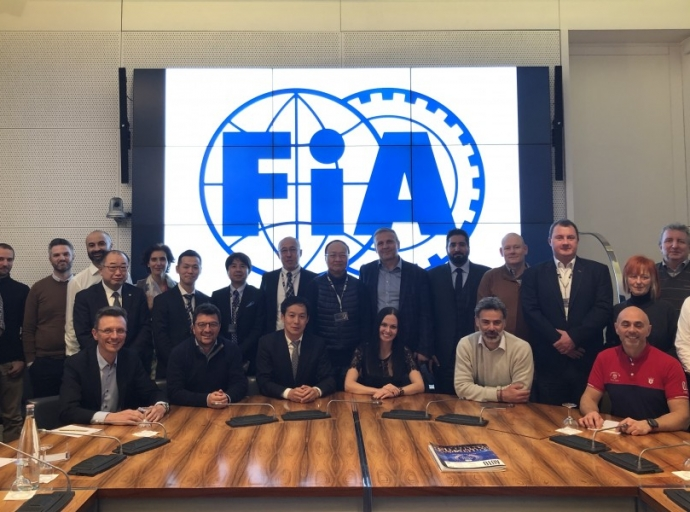 The new FIA Drifting Commission met for the first time in Paris