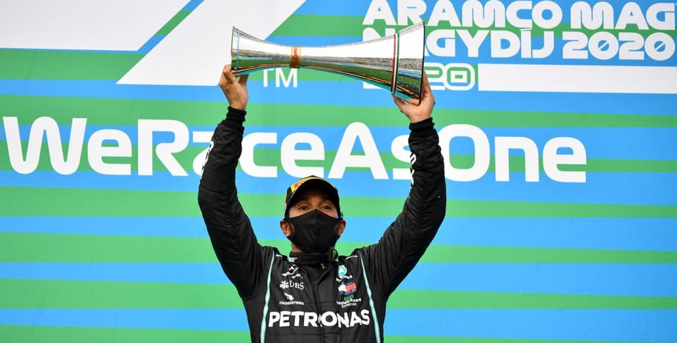 Hamilton won 2020 Hungarian Grand Prix